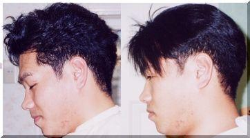 メンズストレート、男縮毛矯正